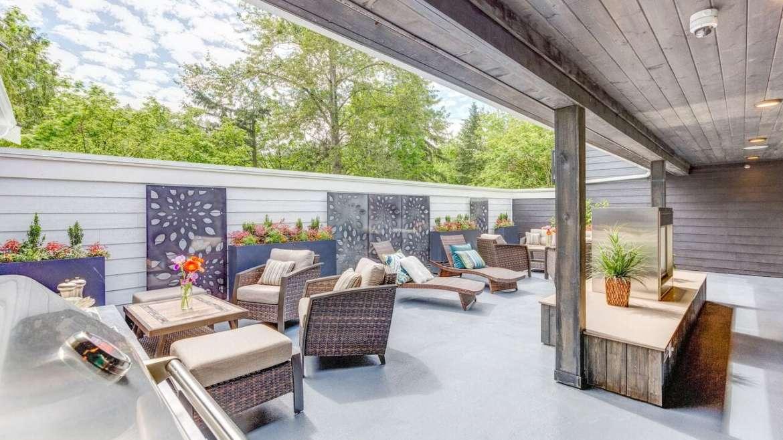 Timberlake Roof Deck – Alternate View